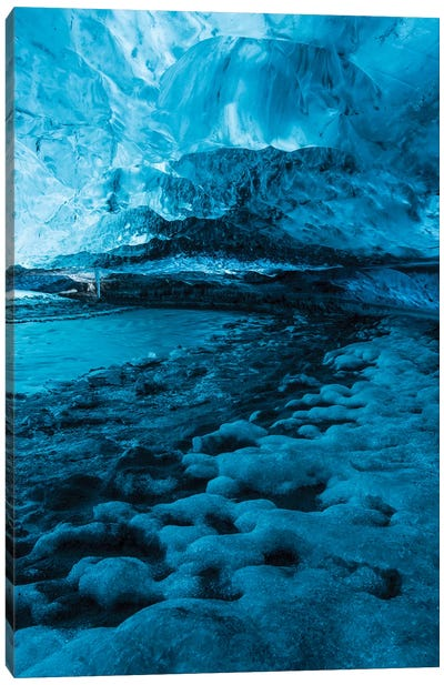 Iceland Vatnajökull Caves X Canvas Art Print