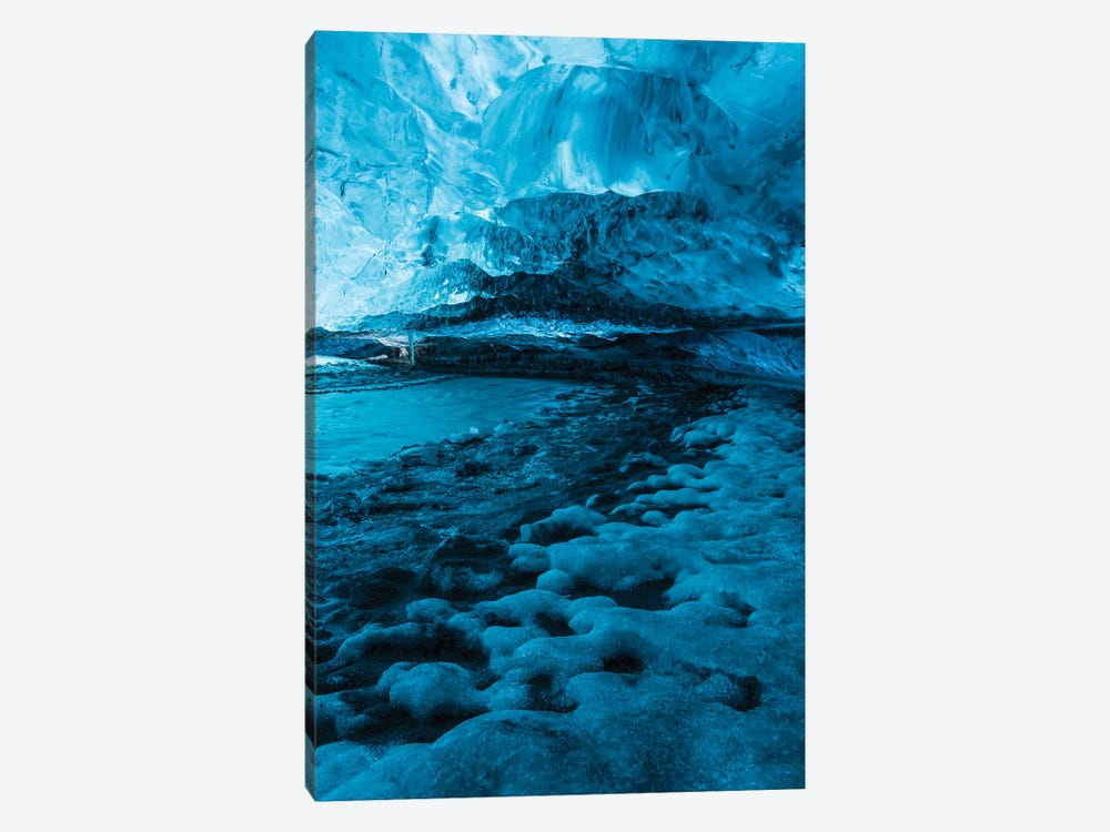Iceland Vatnajökull Caves X by David Clapp Photography Limited 1-piece Canvas Art