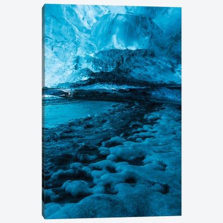 Iceland Vatnajökull Caves X 3-Piece Canvas #DCL34} by David Clapp Art Print