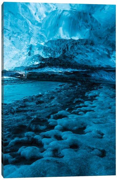 Iceland Vatnajökull Caves X Canvas Art Print