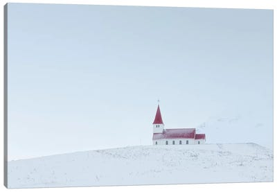 Iceland Vik Church XIV Canvas Art Print