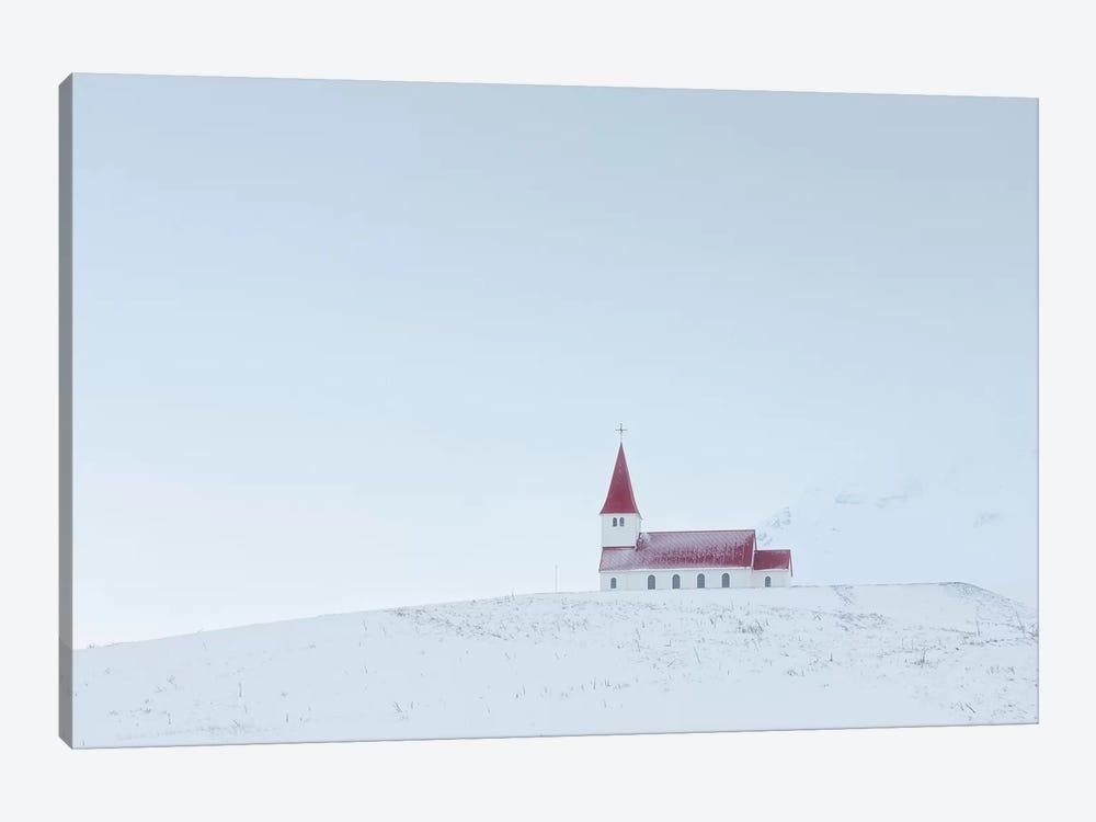 Iceland Vik Church XIV by David Clapp 1-piece Canvas Print