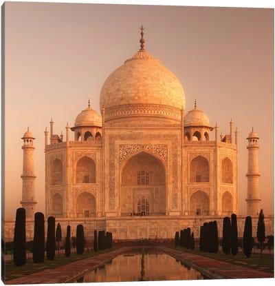 India Agra Taj Mahal I Canvas Art Print