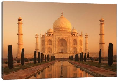 India Agra Taj Mahal III Canvas Art Print