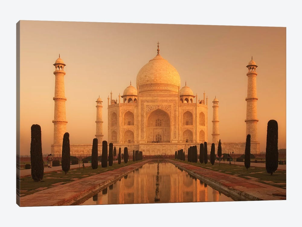 India Agra Taj Mahal III by David Clapp Photography Limited 1-piece Canvas Print
