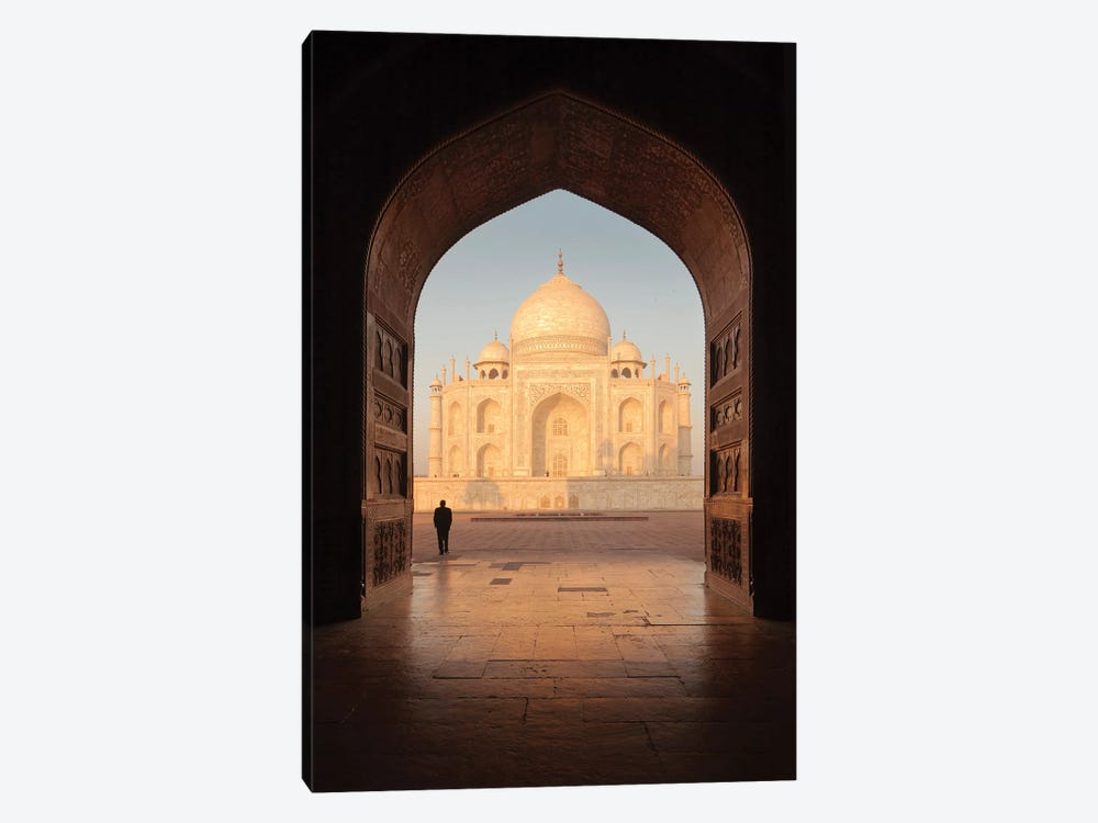 India Agra Taj Mahal V by David Clapp Photography Limited 1-piece Canvas Artwork