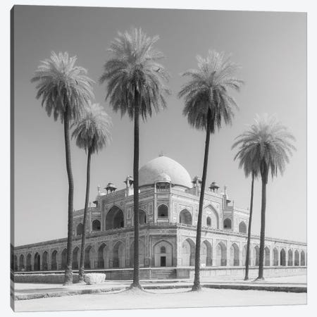 India Delhi Humayan's Tomb I Canvas Print #DCL39} by David Clapp Canvas Artwork