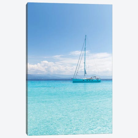 Argentous Corfu XXI Canvas Print #DCL3} by David Clapp Art Print