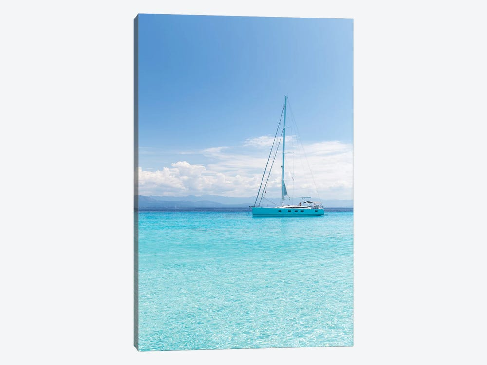 Argentous Corfu XXI 1-piece Canvas Art
