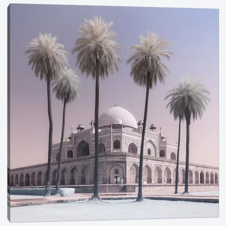 India Delhi Humayun's Tomb II Canvas Print #DCL40} by David Clapp Art Print