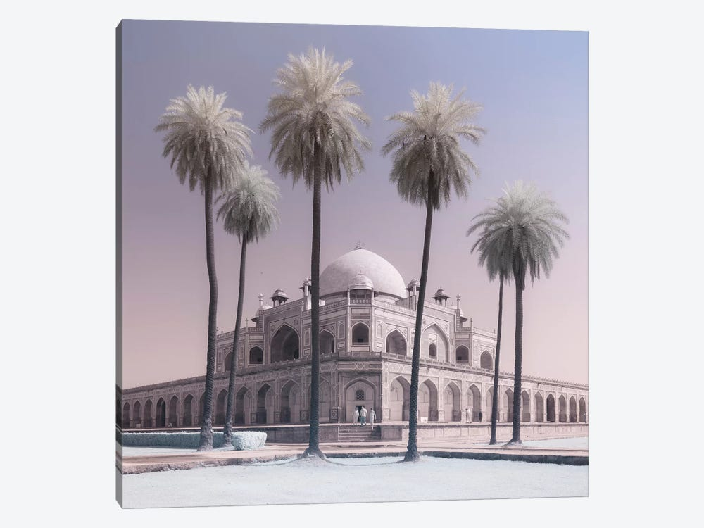 India Delhi Humayan's Tomb II 1-piece Canvas Art Print
