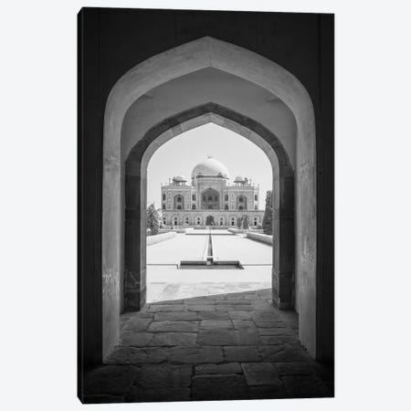 India Delhi Humayan's Tomb IX Canvas Print #DCL41} by David Clapp Art Print