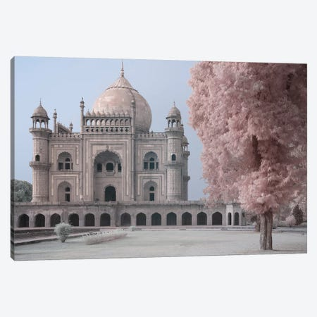 India Delhi Safdarjung's Tomb I Canvas Print #DCL43} by David Clapp Canvas Art Print