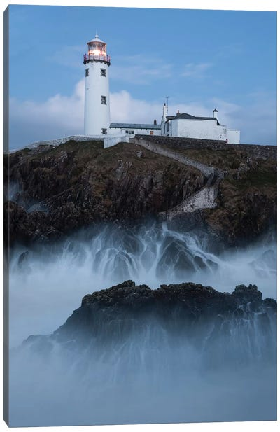 Ireland Lighthouse Fanad XI Canvas Art Print