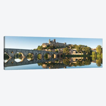 Languedoc Béziers Cathedral XV 3-Piece Canvas #DCL47} by David Clapp Canvas Wall Art