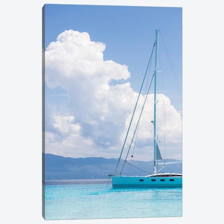 Argentous Corfu XXVI 3-Piece Canvas #DCL4} by David Clapp Canvas Art