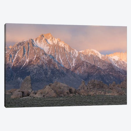 Lone Pine Alabama Hills III Canvas Print #DCL50} by David Clapp Photography Limited Canvas Wall Art