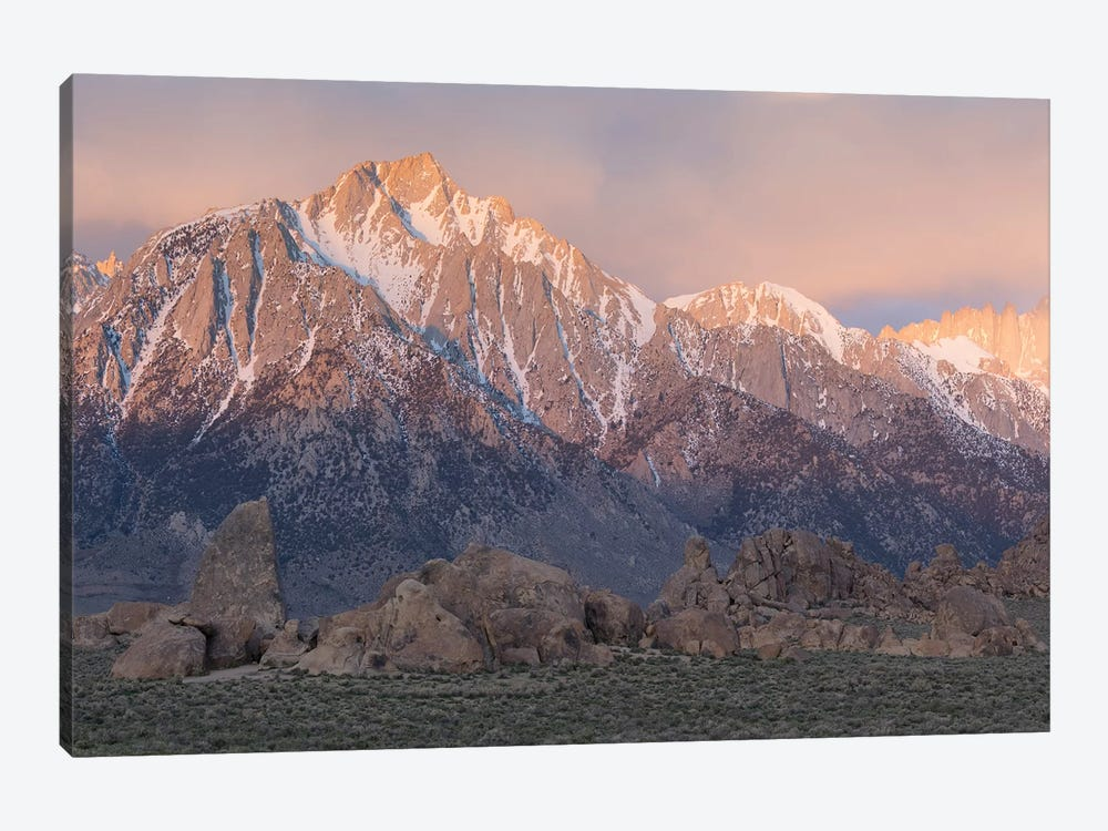 Lone Pine Alabama Hills III by David Clapp 1-piece Canvas Art