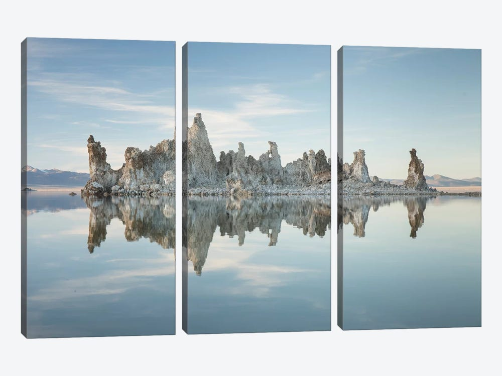 Mono Lake I by David Clapp 3-piece Canvas Print