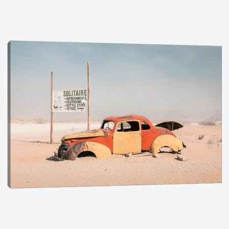 Namibia Solitaire II Canvas Print #DCL59} by David Clapp Canvas Art
