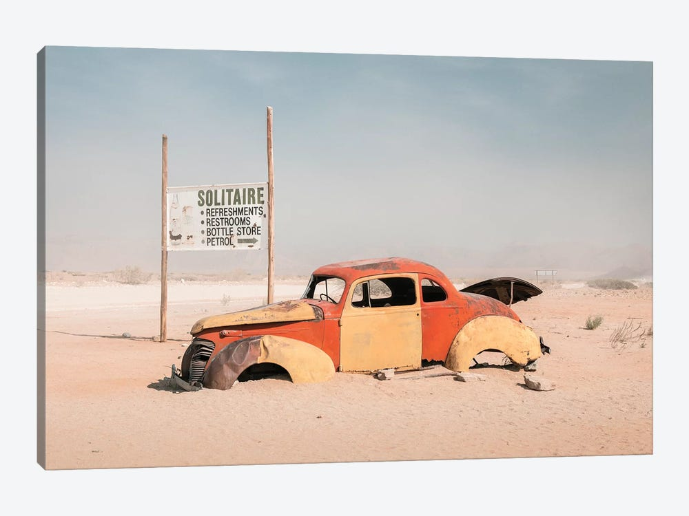 Namibia Solitaire II by David Clapp 1-piece Art Print