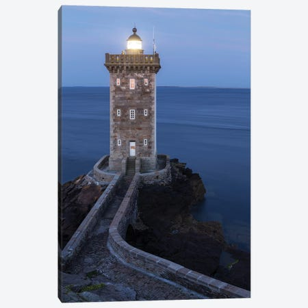 Brittany, Conquet Kermorvan II Canvas Print #DCL5} by David Clapp Photography Limited Canvas Art