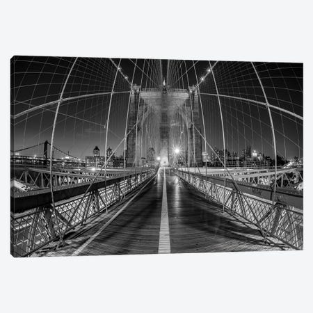 New York Brooklyn Bridge VI Canvas Print #DCL62} by David Clapp Canvas Print