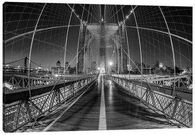 New York Brooklyn Bridge VI Canvas Art Print