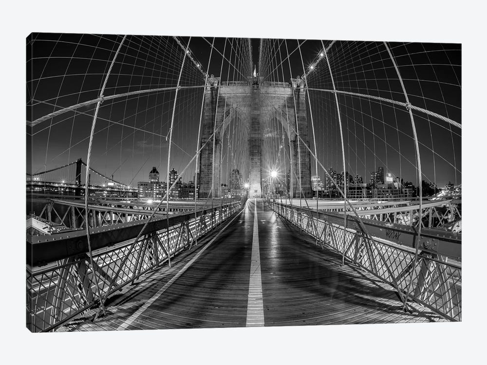 New York Brooklyn Bridge VI by David Clapp 1-piece Canvas Print