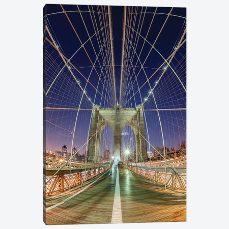 New York Brooklyn Bridge VII Canvas Print #DCL63} by David Clapp Canvas Art Print