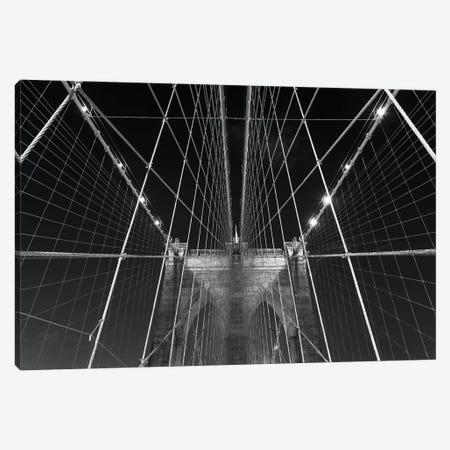 New York Brooklyn Bridge XII Canvas Print #DCL64} by David Clapp Canvas Artwork