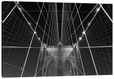 New York Brooklyn Bridge XII Canvas Art Print