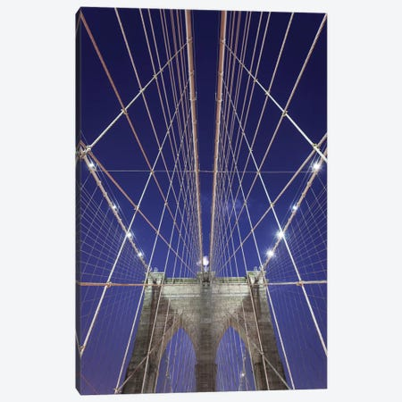 New York Brooklyn Bridge XIII Canvas Print #DCL65} by David Clapp Canvas Art