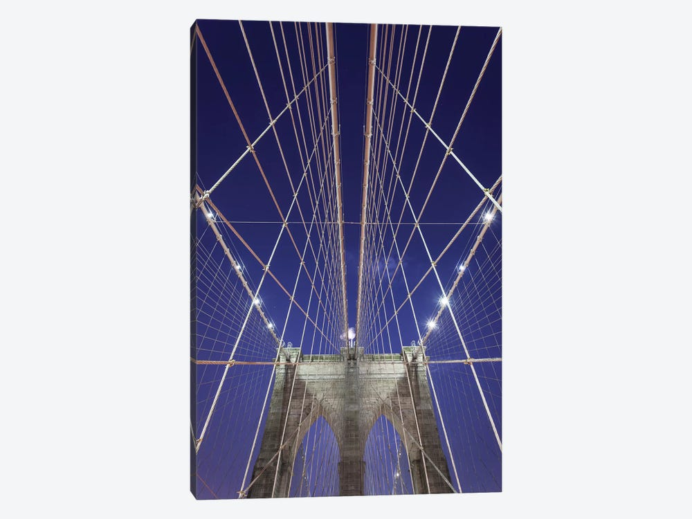 New York Brooklyn Bridge XIII by David Clapp Photography Limited 1-piece Canvas Wall Art
