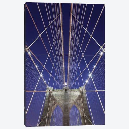 New York Brooklyn Bridge XIII 3-Piece Canvas #DCL65} by David Clapp Canvas Art