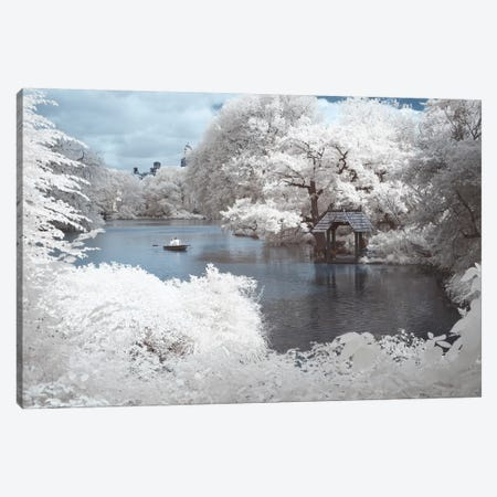 New York Central Park IV 3-Piece Canvas #DCL66} by David Clapp Canvas Artwork