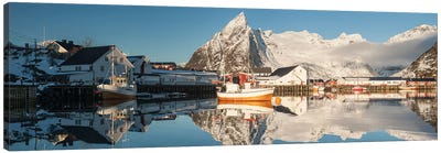 Norway Lofoten Hamnøy IV Canvas Art Print