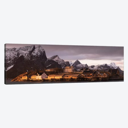 Norway Lofoten Sakrisoya III Canvas Print #DCL69} by David Clapp Photography Limited Art Print