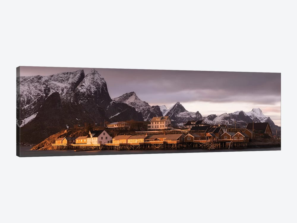 Norway Lofoten Sakrisoya III by David Clapp Photography Limited 1-piece Canvas Wall Art