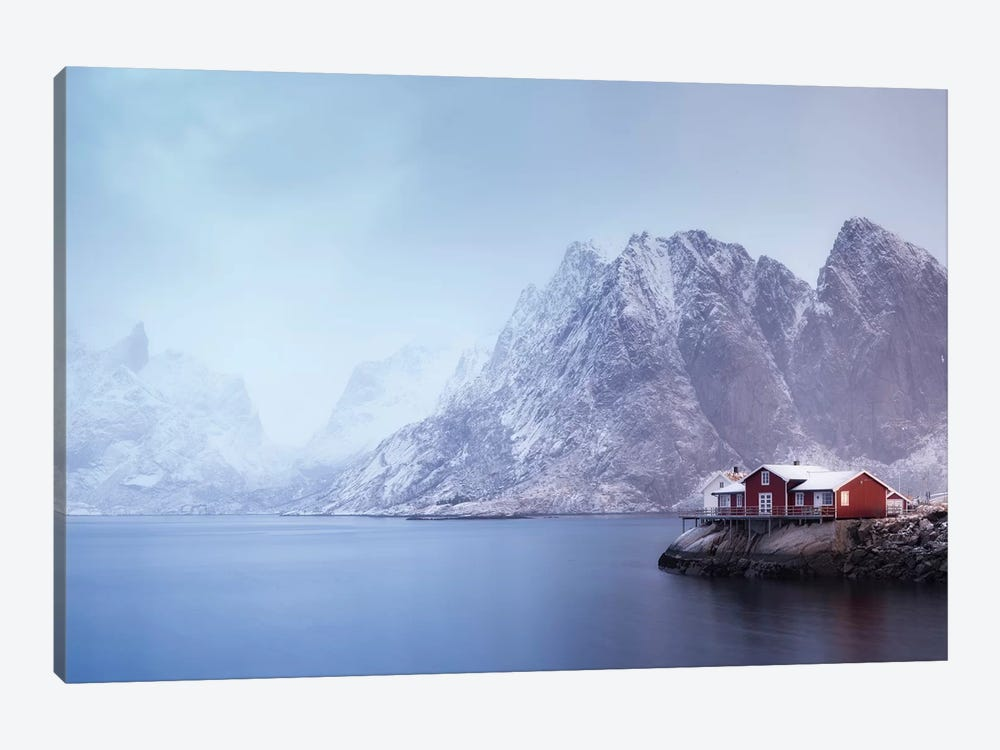 Norway Lofoten Sakrisoya XI by David Clapp 1-piece Canvas Artwork