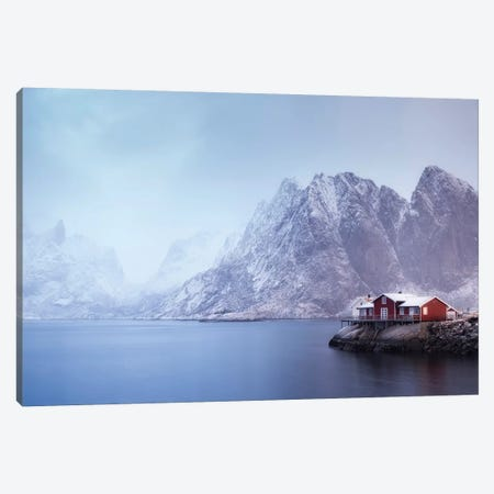 Norway Lofoten Sakrisoya XI 3-Piece Canvas #DCL70} by David Clapp Canvas Art