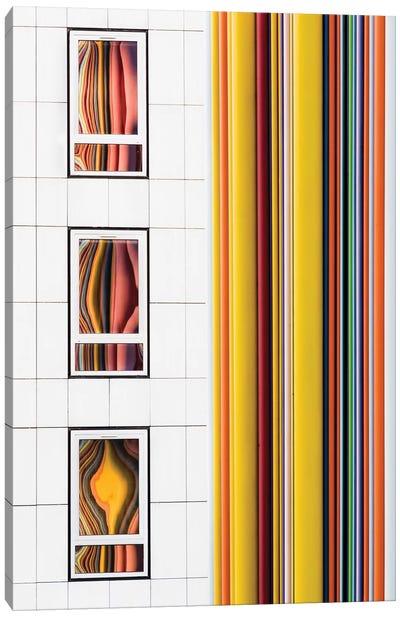 Paris La Défense V Canvas Art Print