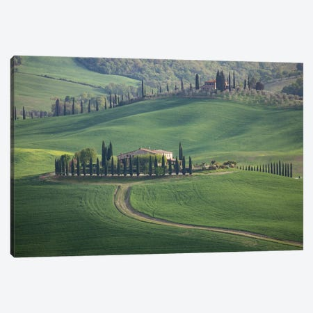 Tuscany Bagno Vignoni II Canvas Print #DCL82} by David Clapp Art Print