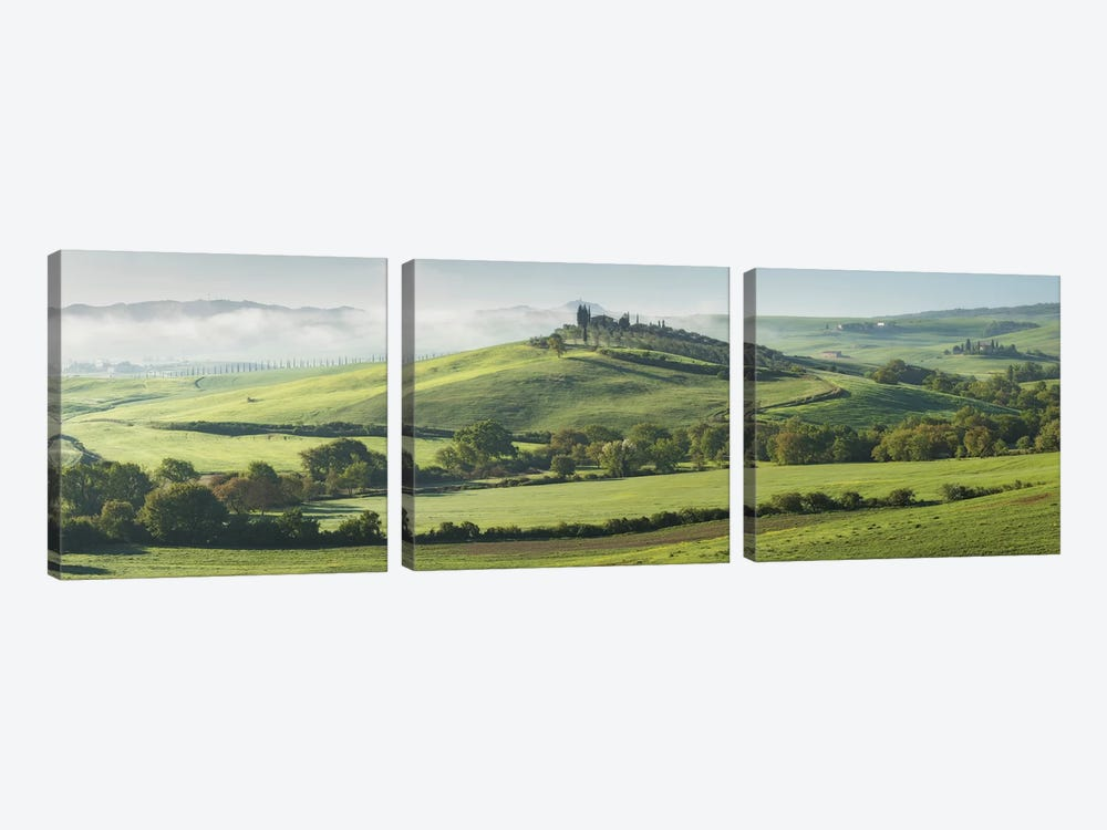 Tuscany Bagno Vignoni V by David Clapp Photography Limited 3-piece Canvas Artwork