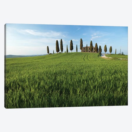 Tuscany Pienza I Canvas Print #DCL86} by David Clapp Canvas Wall Art