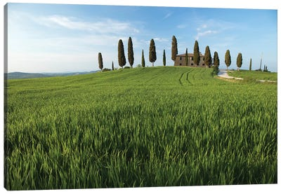 Tuscany Pienza I Canvas Art Print