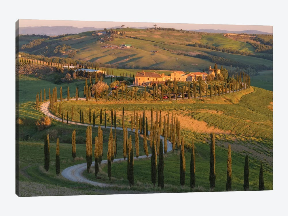 Tuscany Val d'Asso I by David Clapp Photography Limited 1-piece Canvas Wall Art