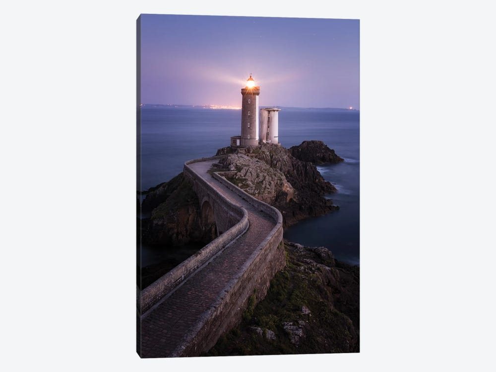 Brittany, Phare du Petit Minou II by David Clapp Photography Limited 1-piece Art Print