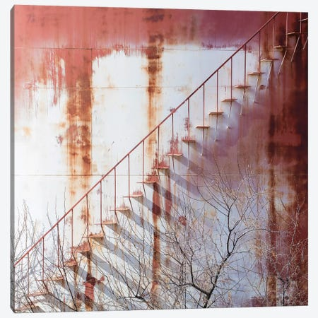 Utah Fredonia Factory VII Canvas Print #DCL92} by David Clapp Canvas Art