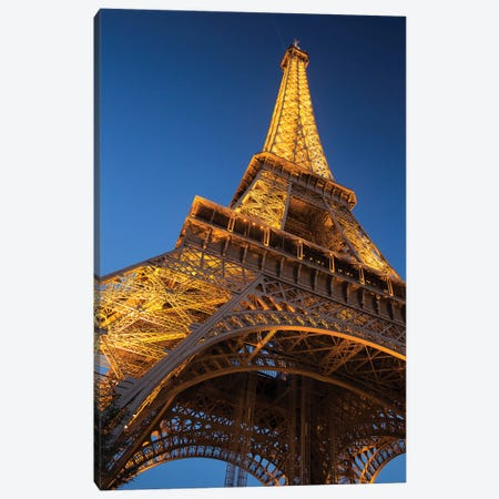 Eiffel Tower II Canvas Print #DCL99} by David Clapp Canvas Artwork